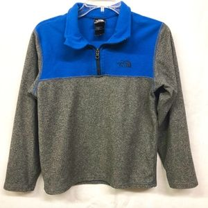 THE NORTH FACE Boys 1/4 Zip Fleece Pullover Jacket
